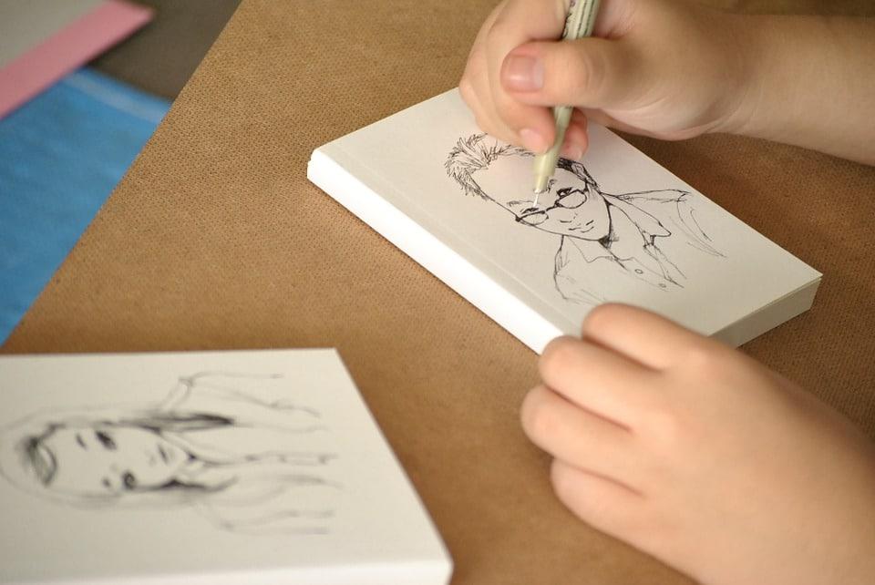 dessin-crayon