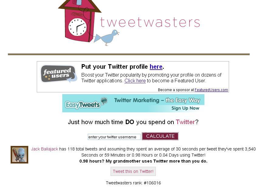 Combien de temps passez-vous sur Twitter ?