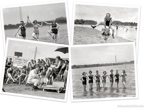 Comment c'était la plage il y a cent ans ?