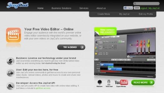 Faire du montage vidéo en ligne - Jaycut