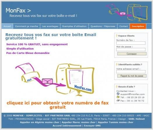 Comment recevoir un fax par mail