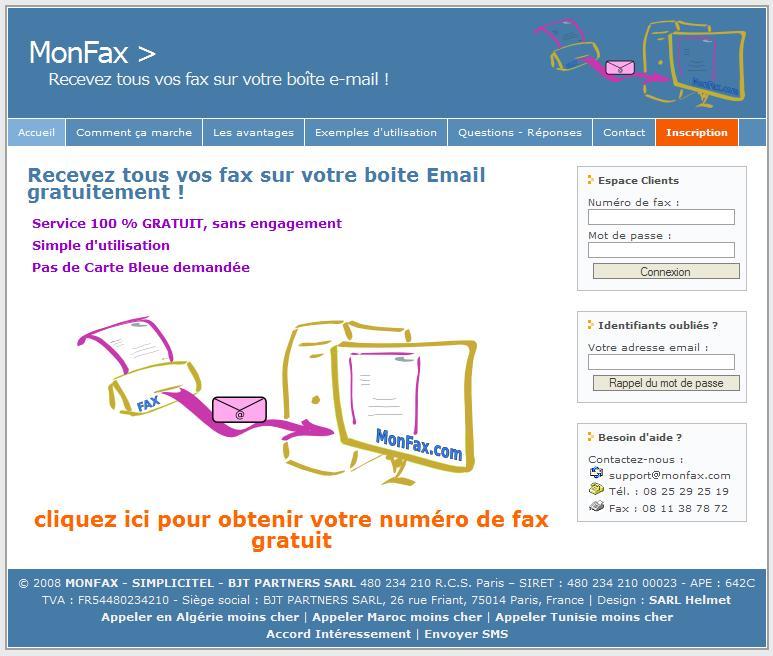 faxer un document en ligne