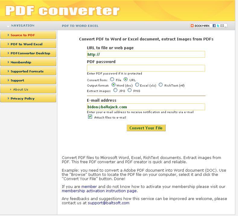 Le meilleur convertisseur de <b>PDF</b> : Créez et convertissez des ...