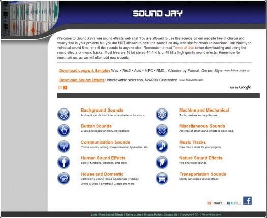 Une banque de sons pour sonoriser son blog