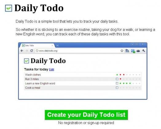 Créer facilement une liste de choses à faire
