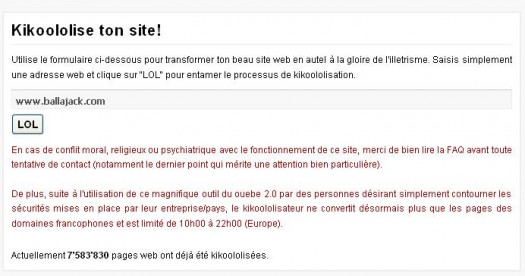 Comment traduire une page Web en langage neuneu