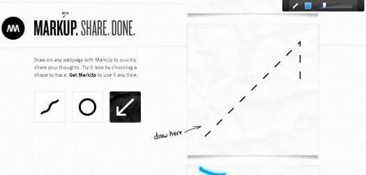Annoter une page Web et la partager avec Markup.io