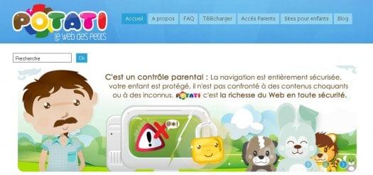 Le Web pour les plus jeunes - Potati.com