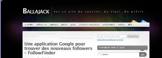 Extension Chrome pour savoir ce qui est dit d'une page Web