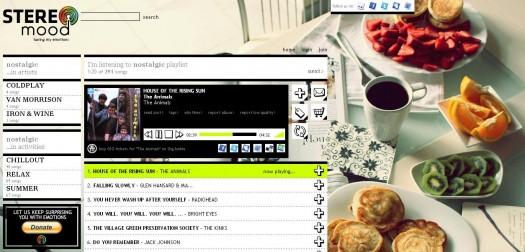 Des playlists à écouter selon son humeur - Stereomood.com