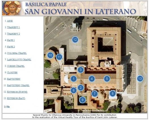 Visiter les basiliques du Vatican en 360 degrés