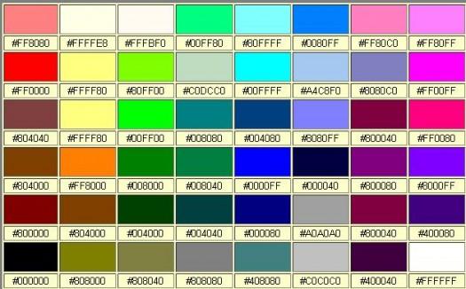 Afficher des couleurs dans son navigateur - Whatcolor