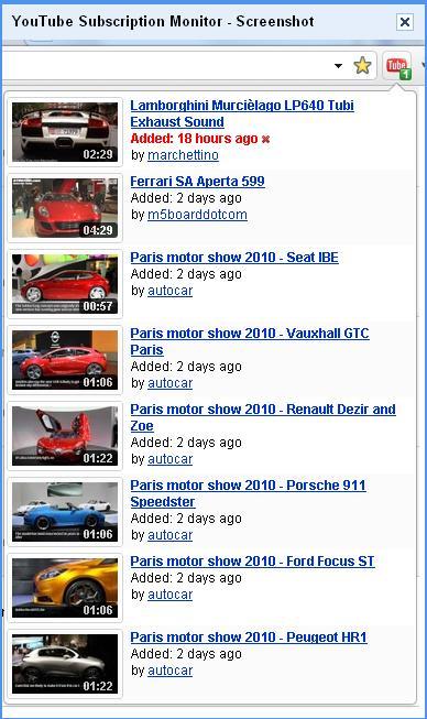 Etre averti quand une vidéo est ajoutée à une chaîne YouTube