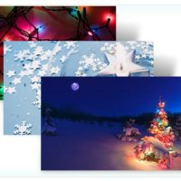 Thème pour Windows 7 - Holiday Lights