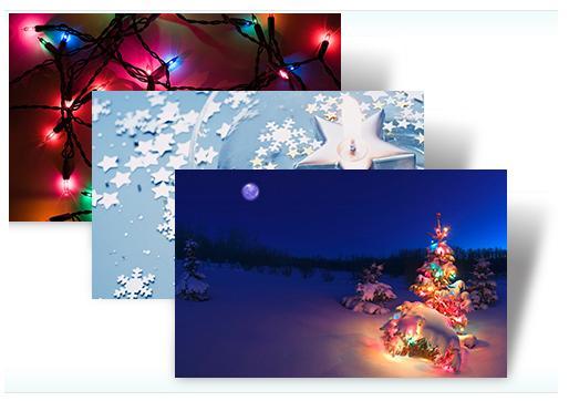 Thème pour Windows 7 - Holiday Lights