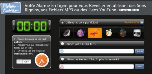Un r veil matin en ligne clock alarm les infos de - Telecharger table de mixage gratuit en francais pour pc ...