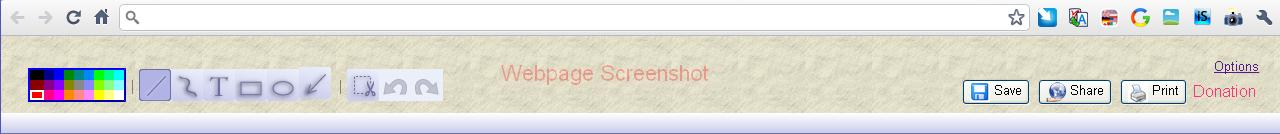 webpage-screenshot-outils