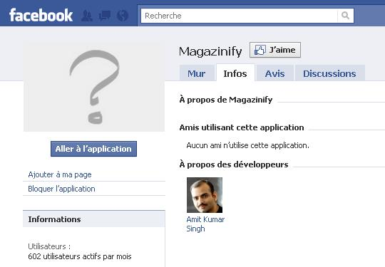 Application rencontre facebook