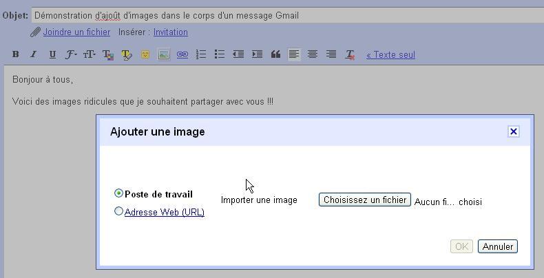 gmail   comment ins u00e9rer une image dans le corps d u0026 39 un mail