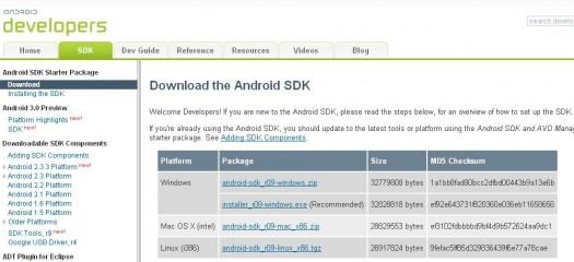 download-android-sdk