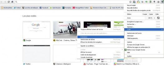Une extension Chrome pour gérer les extensions Chrome