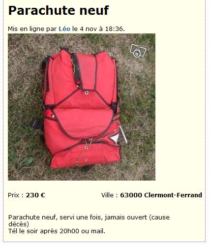 [Discussion] Images Surprenantes - Page 3 Bon-coin-parachute