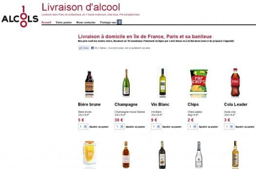 Alcool, une boutique en ligne pour arrêter de boire