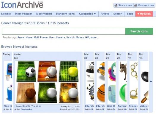 Des icônes de qualité en stock, Icon Archive
