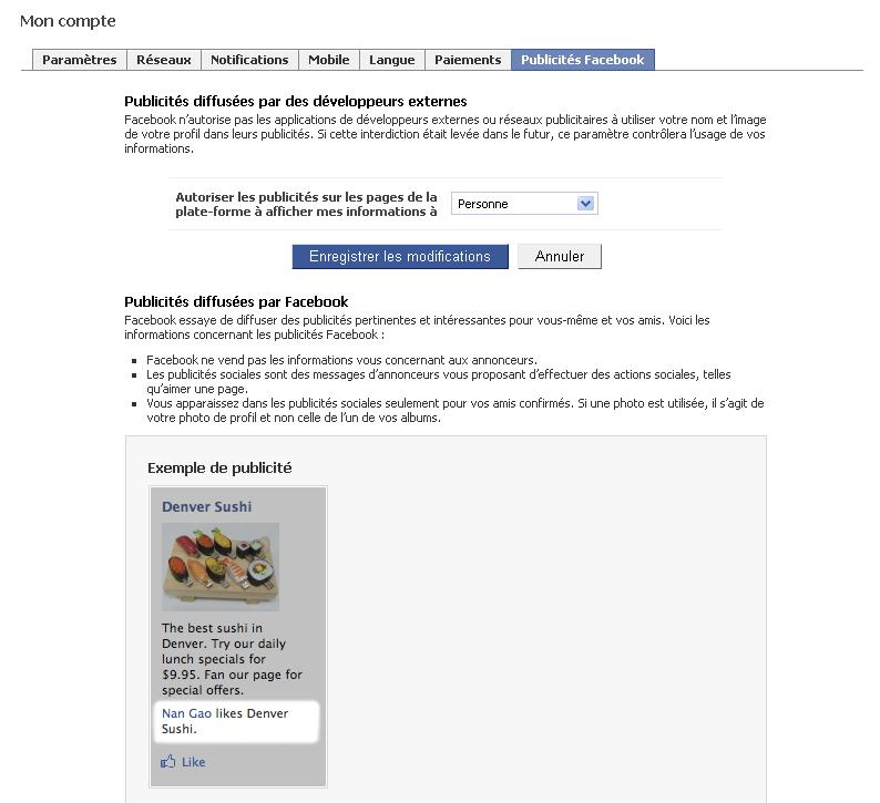 comment arreter une publicite facebook