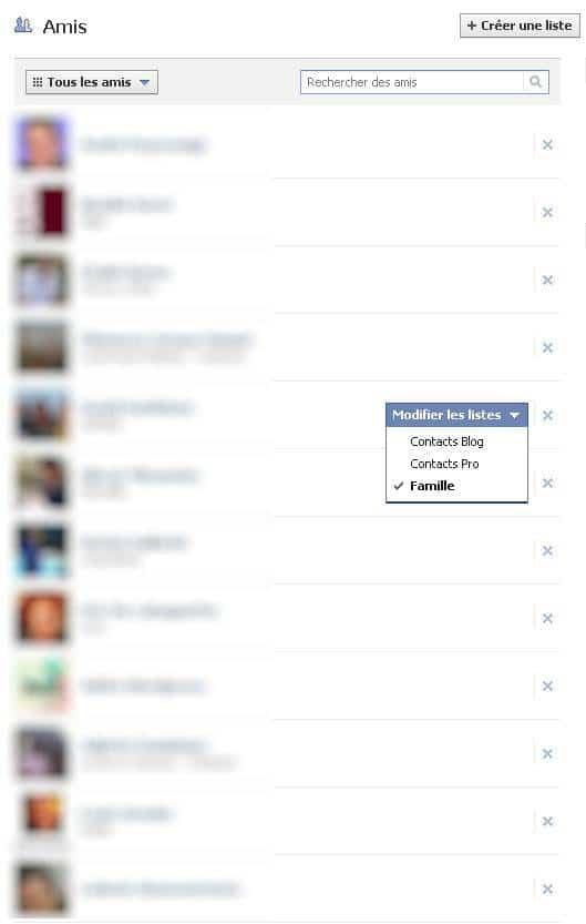 facebook-affecter-ami-liste