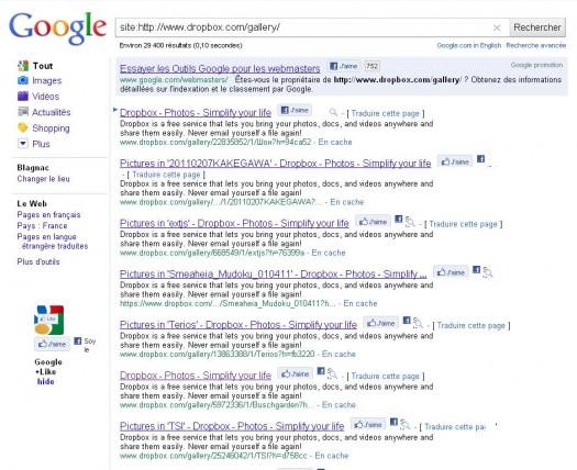 google-recherche-dropbox