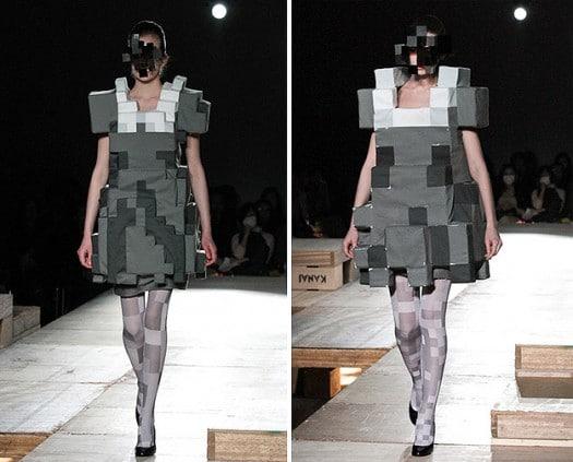 La mode en 8 bit pour les geekettes