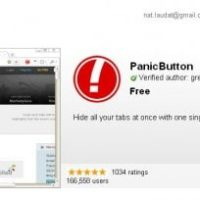 chrome-panic-button