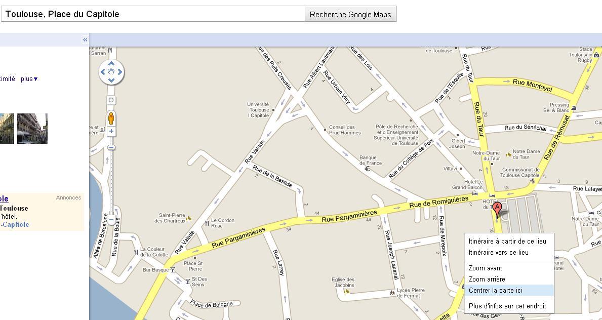trouver les coordonn es gps d un lieu sur google maps les infos de ballajack. Black Bedroom Furniture Sets. Home Design Ideas