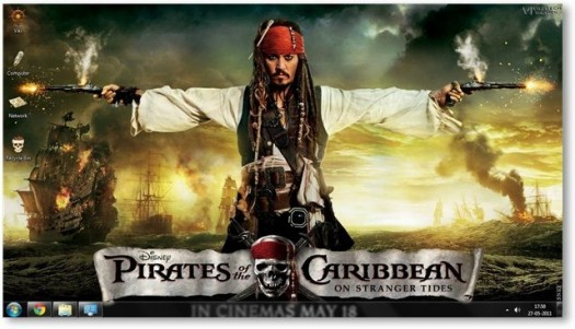 pirates-caraibes-theme-windows7