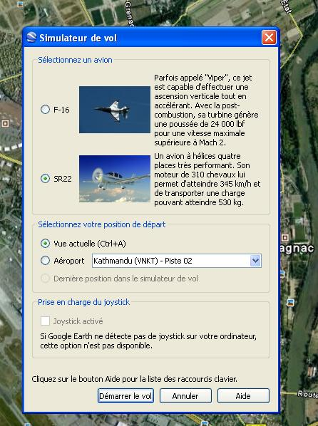simulateur-vol-google-earth