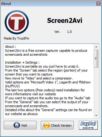 screen2avi-screencast