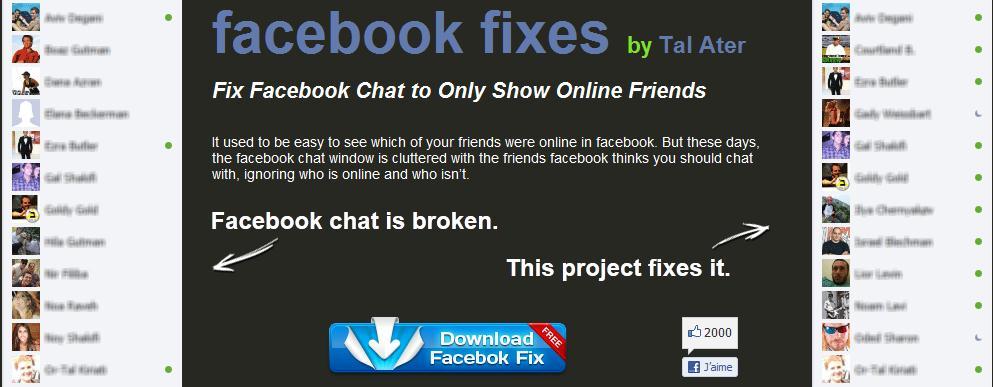 comment réparer facebook