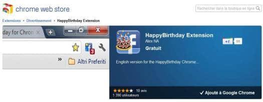 Fêter automatiquement l'anniversaire des amis sur Facebook