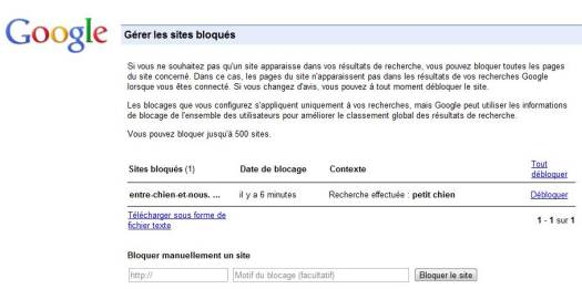 google-gestion-liste-sites-bloques