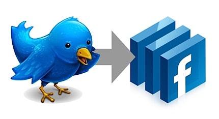 Vos tweets sur votre mur et vos pages Facebook