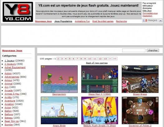 Y8 jeux - Jeux de fille gratuit de cuisine en francais 2012 ...