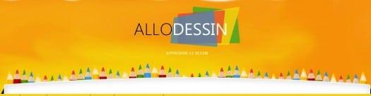 Apprendre à dessiner, un site en français, AlloDessin