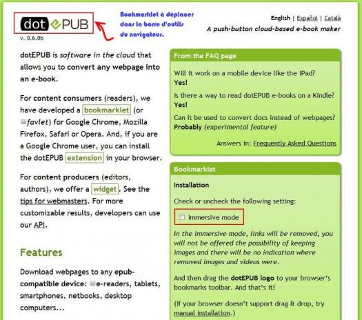 convertir page web en pdf avec firefox