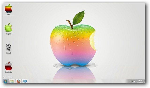 Les Logos D Apple En Th 232 Me De Bureau Pour Windows 7 Les