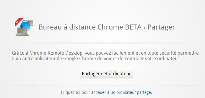 Contr ler d autres ordinateurs avec chrome remote desktop - Bureau a distance google chrome ...