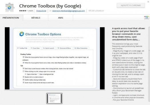 chrome-toolbox