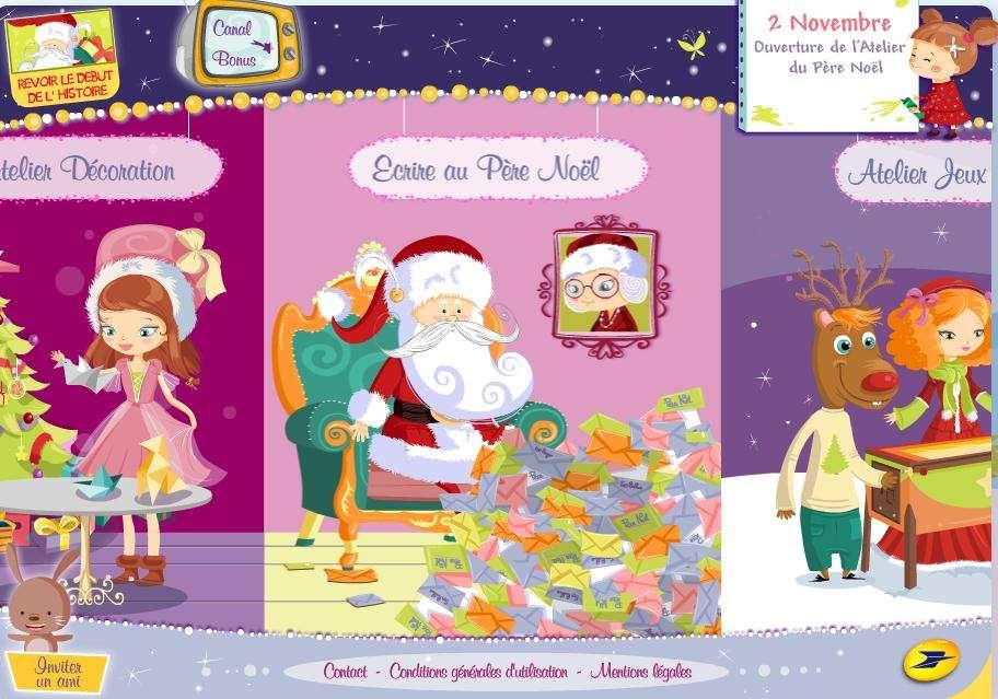 Le Site De La Poste Pour écrire Au Père Noël Est En Ligne