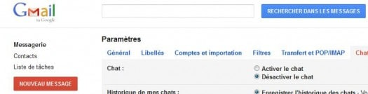 gmail-option-chat