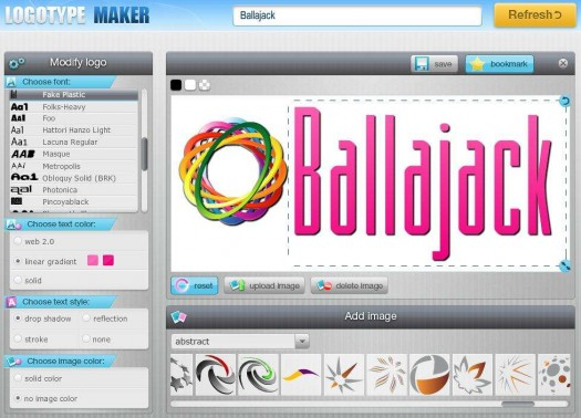 logotype-maker-interface